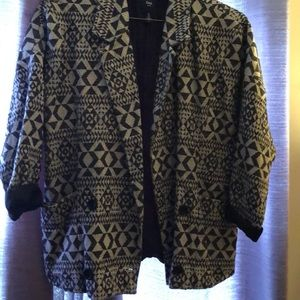 GAP geometric print jacket